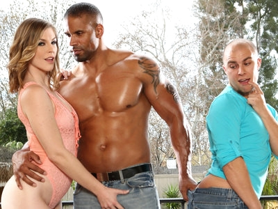 Big Rob Axel Fucks Husband Eli & Wife Ella in a Threesome