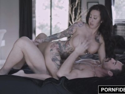 PORNFIDELITY Lily Lane Cheered Up By Big Dick