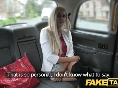 Fake Taxi skinny blonde with small ass gets anal sex and fac