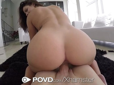 POVD After shower fuck and facial with busty Keisha Grey