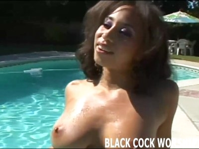 These two big black cock are going to tear me up