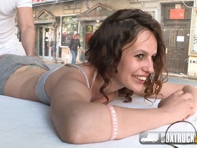 Leyla Bentho shows her oral skills