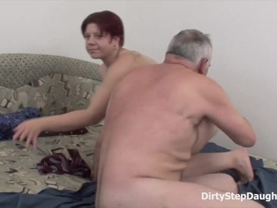 DirtyStepDaughter Let Me Relax Your Cock Dad
