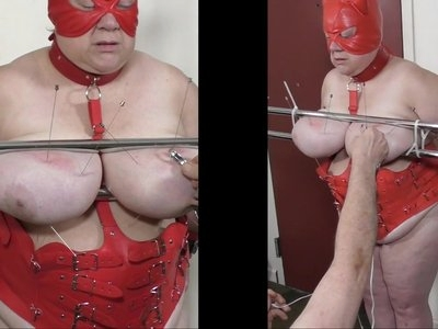07-Aug-2017 Tit Torture of the slut slave Part 1