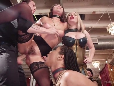 Squirting Slave Fuck Fest at Folsom