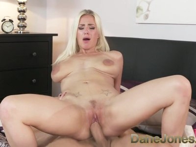 Dane Jones Pussy pounding cowgirl riding passionate couple