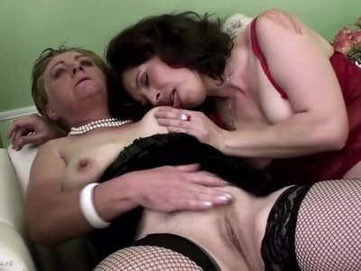 PISS ON ME with mature moms and granny
