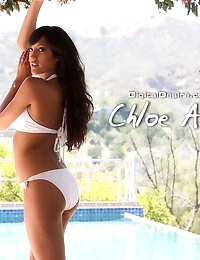 Chloe Amour shows off what's under her bikini