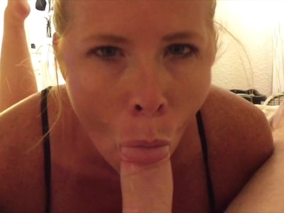 Hot MILF bj CUMpilation