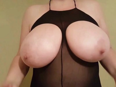 My favorite house party outfits- 38HH tits