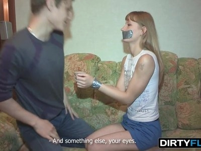 Dirty Flix - Soni - Surprise fuck and double cumshot