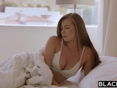 BLACKED Girlfriend Pays Her Boyfriends Debt By Fucking Two B
