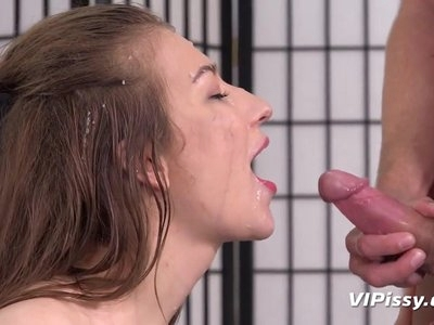 Piss Drinking- Roxy loves to drink piss in this hardcore vid