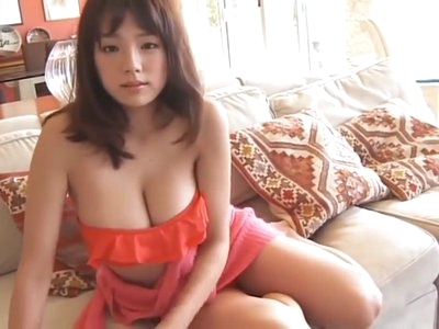 Ai Shinozaki - Orange Bikini