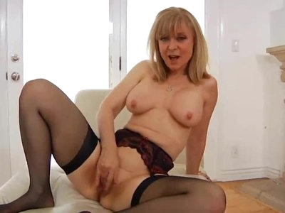 Legendary Nina Solo In Stockings - PolishViking