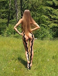 Eroberlin Emilia Sky long hair teen in swiss alps