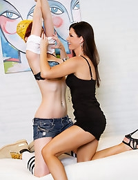 Veronica Ricci is really getting into her job when India Summer come in to put her to work.