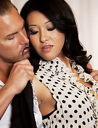Jayden Lee is hungry for Brandon Fox and he is more than willing to feed her his goods.