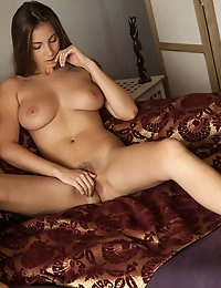 Connie Carter a stunning, natural beauty that exudes not only sex appeal but confidence.   Beautiful natural breasts and a lovely trimmed bush enhance her spectacular body.