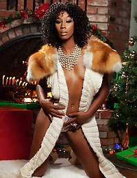 Misty Stone is ready to unwrap her package.