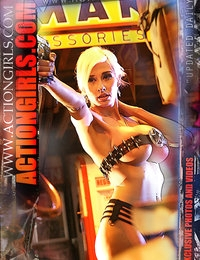 Exclusive Actiongirls Web Posters 2012 Series 2  Photos Actiongirls.com