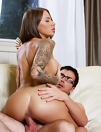Juelz Ventura finds herself needing Dane Cross and they do it right there on the couch.