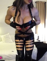 Barbara Belize is a naughty Catwoman