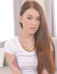 Misha Cross plays with a vibrator