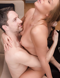 In Getting Closer, Angel B. has a vision for how she wants to spend the afternoon. First, it involves showing Lutro the show he wants to see. Pulling out her fine tight ass and her abundant breasts, she gets her man going in preparation for the full experience. And she knows how she wants that to happen too. See, Angel B. has a thing for doggy style. She likes to get up on the couch, bend over real deep, spread her knees as wide as they can go, and whisper a sensual invitation. And her man is only too glad to oblige. You ready for an afternoon with Angel B?