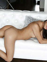 Veronica Rodriguez is one of the horniest girls I've ever met. She fucks herself like she fucks her lovers -- intensely and passionately -- and she has the sexiest dirty mouth of any girl out there. She even talks dirty to herself while masterfully masturbating. Plus, she's super playful and sizzling HOT. Want to join her for some slippery fun? She's wet and ready for you.