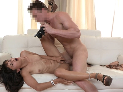 Tricky casting with a creampie