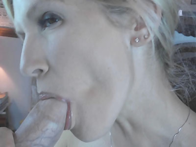 Slutty housewife Jolene fucks her toy sucks some dick and gets her tight ass fucked hard