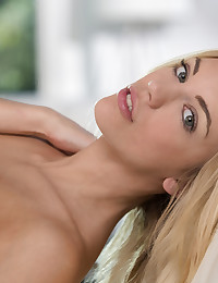 Our newest Colette Girl is at X-Art -- tall, slender, ultra-fit Blake Eden. With those gorgeous, come-fuck-me eyes, I know you will be as excited as Brig and I are to shoot with her. Here's a little taste of Eden -- solo for now, but more soon -- that became sizzling hot as Blake relaxed before our cameras. Soon, she was wearing nothing but white stockings over those killer legs and finger-fucking herself until her pussy was so pink and moist that no one wanted to stop. Boys, wouldn't you love to have Blake's full lips wrapped around your cock? XOXO, Colette