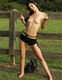 On the Fence featuring Leighlani Red & Tamara Jade by Als Photographer