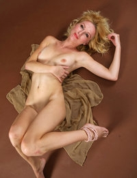 Alluring blonde model Yara looks delicious and sexy in all positions