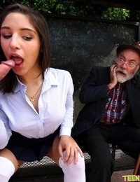 Watch TeensLoveHugeCocks scene Bus Bench Creepin featuring Abella Danger Browse FREE pics of Abella Danger from the Bus Bench Creepin porn video now