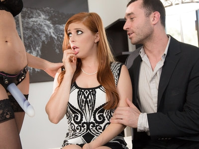 Penny Pax hard meeting with sugar daddy James and his wife