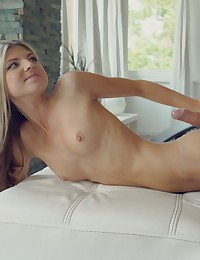 Super skinny babe Gina Gerson gets off with a pussy licking then gives her man the fuckfest he craves in her bare pussy