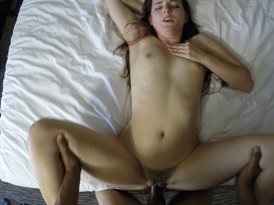 POV sex and doggystyle cumshot