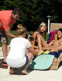 Slip n Slide featuring Gina Gerson & Vivien Bell by Als Photographer