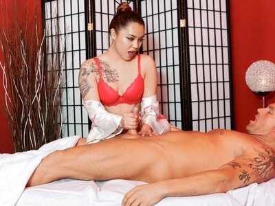 Marika Rose in giving an amazing happy ending massage